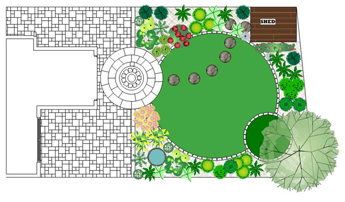 Garden Design Examples domestic garden design in herts, beds and cambs