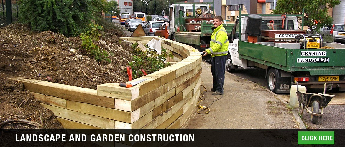Landscape garden construction